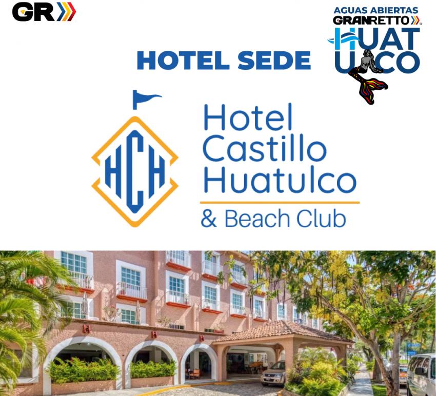 TRAVESÍA DE AGUAS ABIERTAS GRAN RETTO HUATULCO 2021 Hotel Sede